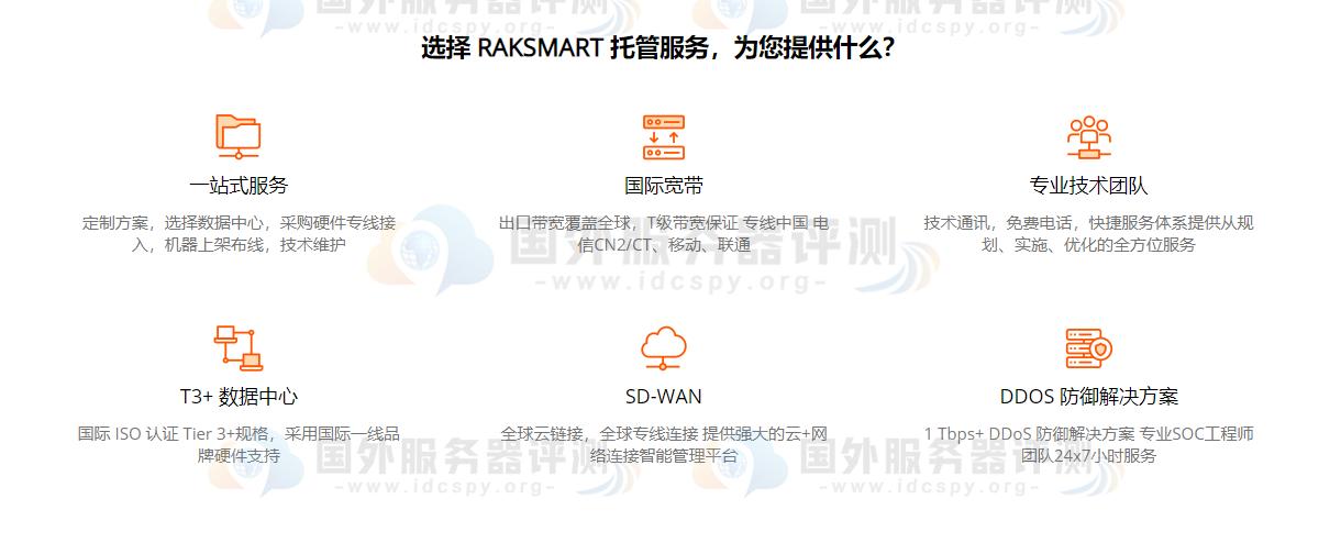 RAKsmart服务器托管的配置产品有哪些? (https://www.idcspy.org/) 国外主机商 第2张