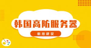 韩国高防服务器租用选择 韩国高防服务器怎么样 (https://www.idcspy.org/) 韩国高防服务器 第1张