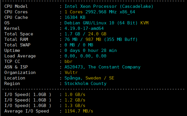 Vultr新增第18个数据中心瑞典斯德哥尔摩机房 (https://www.idcspy.org/) 国外主机商 第2张