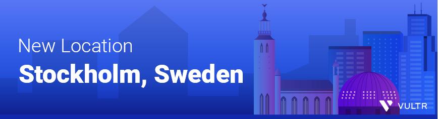 Vultr新增第18个数据中心瑞典斯德哥尔摩机房 (https://www.idcspy.org/) 国外主机商 第1张