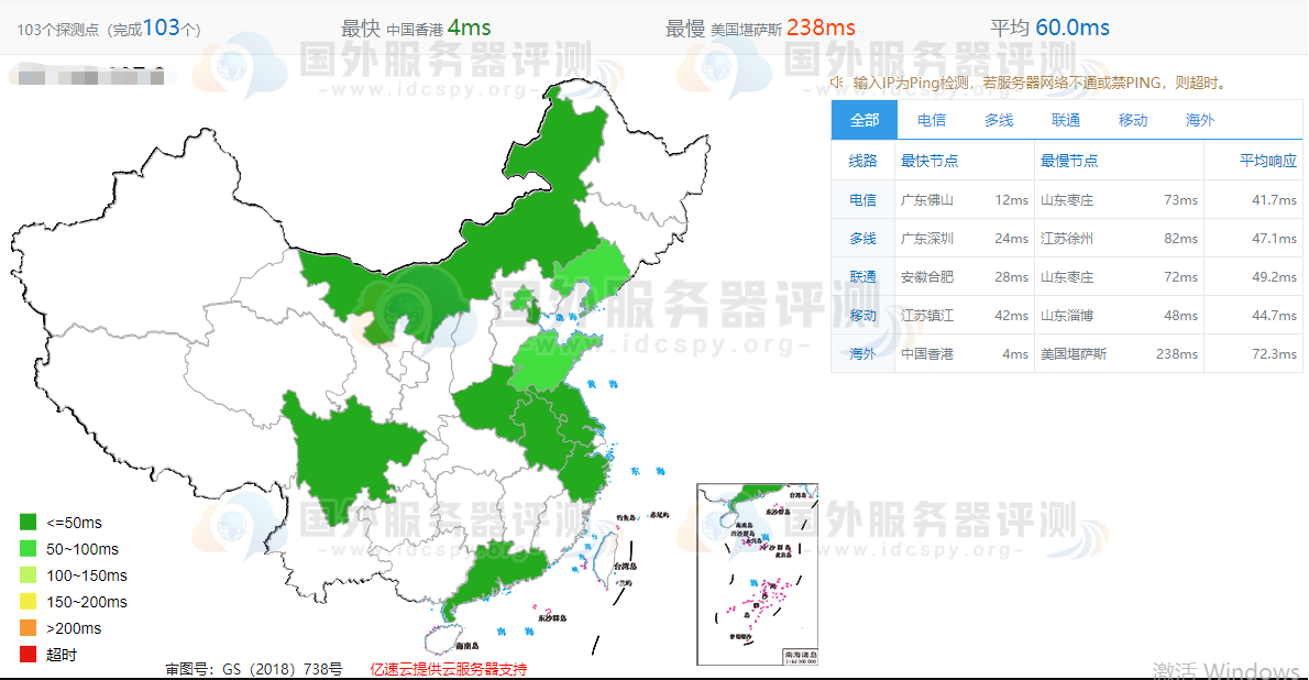 RAKsmart香港云服务器速度全面评测 (https://www.idcspy.org/) 评测 第3张